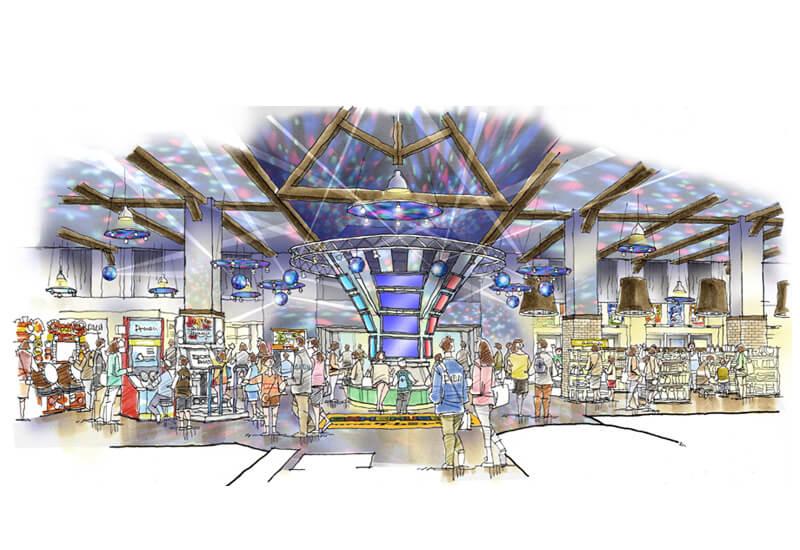 KM23-ゲームセンター 改装計画 ゲームミュージアム